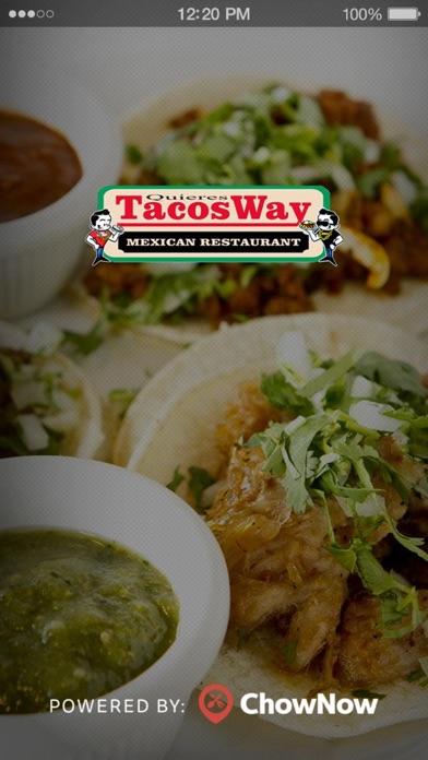 TacosWay screenshot 1