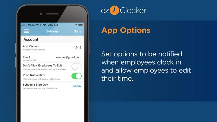 ezClocker: Employee Time Track screenshot-7