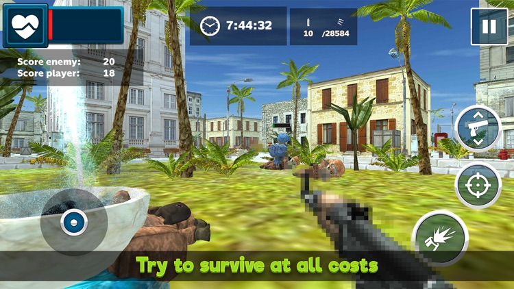 Mini Army Men: Soldier Shooter screenshot-4