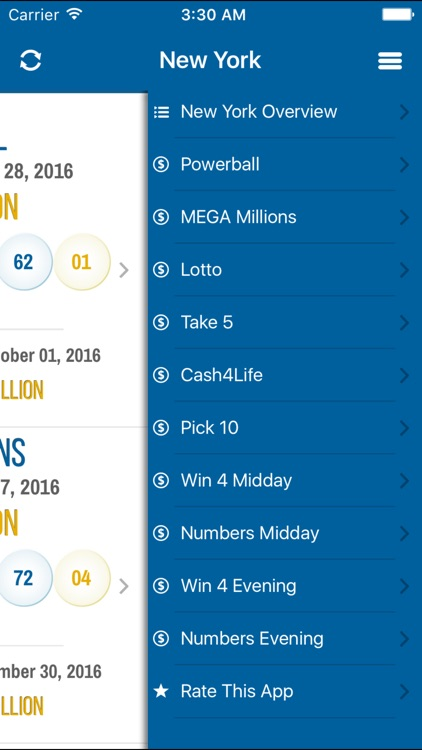 New Lottery Results