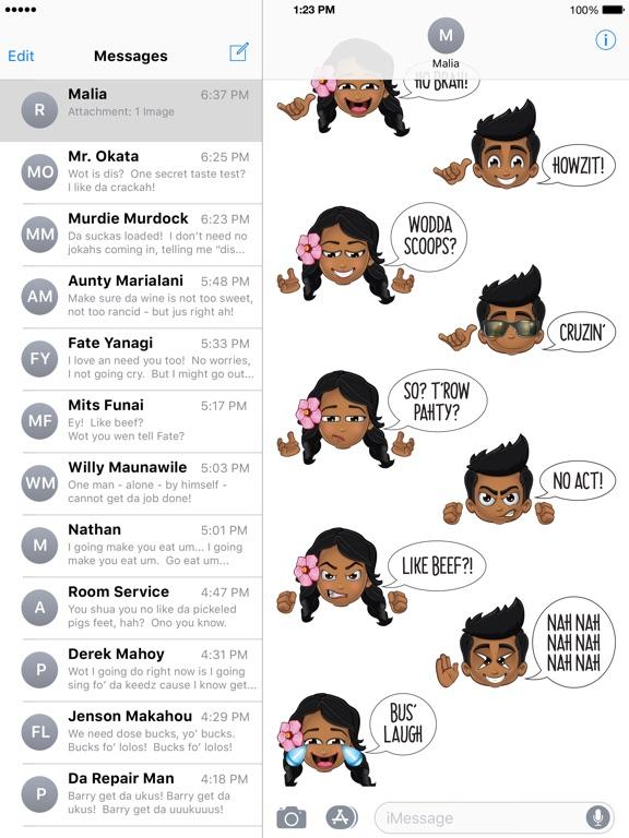 Image of Pidginmoji Emoji Keyboard for iPad