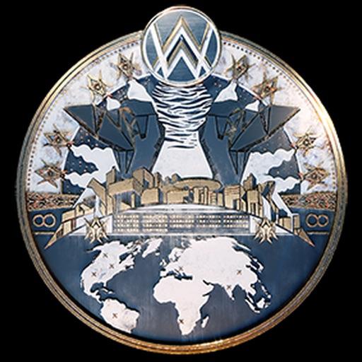 World Of Walker Stickers