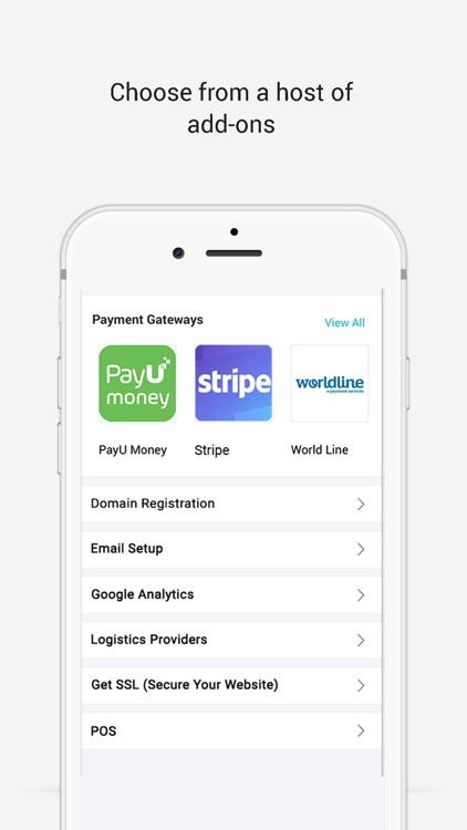 Website, Store Builder -Boomer screenshot-3