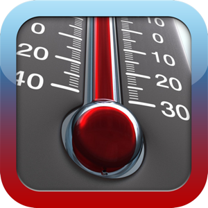 HD Thermometer ⊎ Weather app