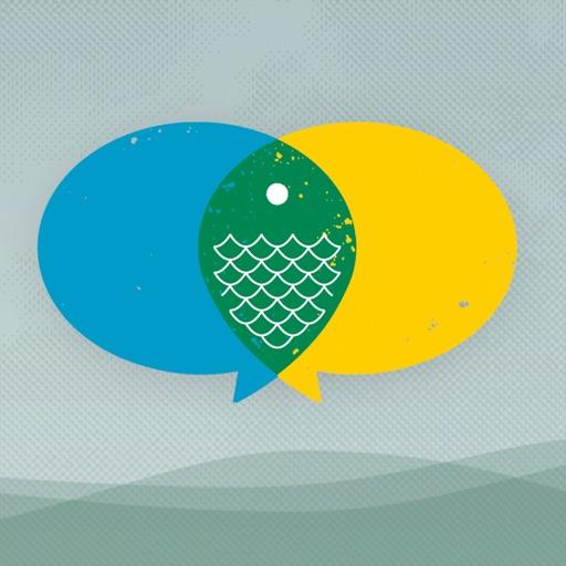 Fishidy: Fishing Report Maps application logo