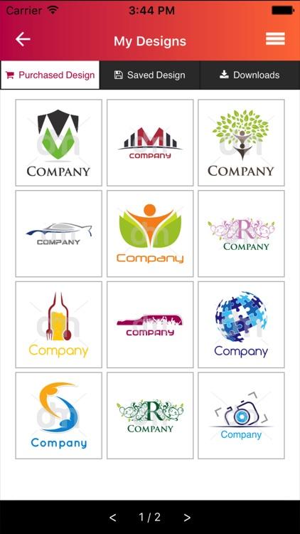 DesignMantic - Logo Maker screenshot-4