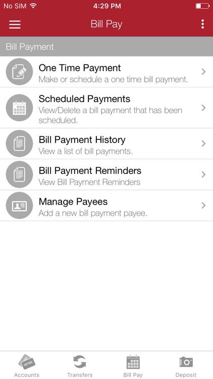 Grand Savings Bank Mobile screenshot-3