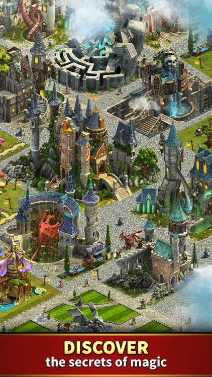 Elvenar - Fantasy Kingdom screenshot-3