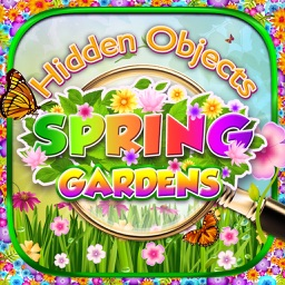 Hidden Object Spring Gardens & Spy Easter Objects