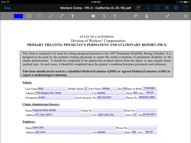 CT Forms Mobile 7.1 screenshot-2