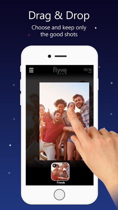 FlyveCam - Drag & Drop Camera screenshot one
