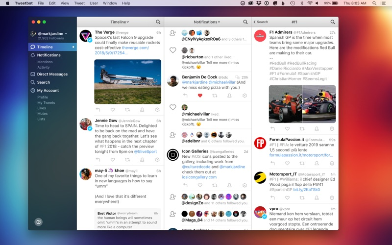 A great alternative Twitter app for OS X