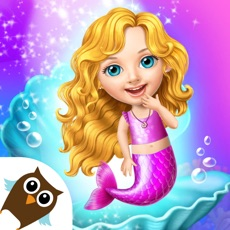 Activities of Sweet Baby Girl Mermaid Life