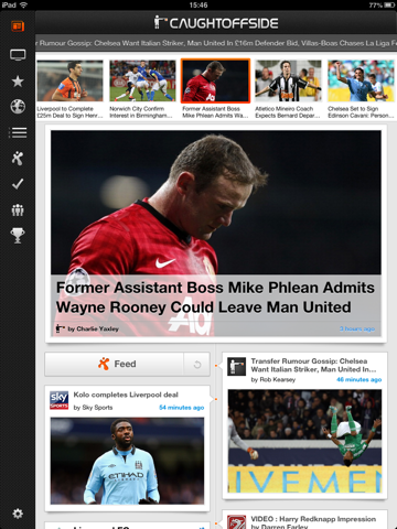 Caught Offside for iPad screenshot 2