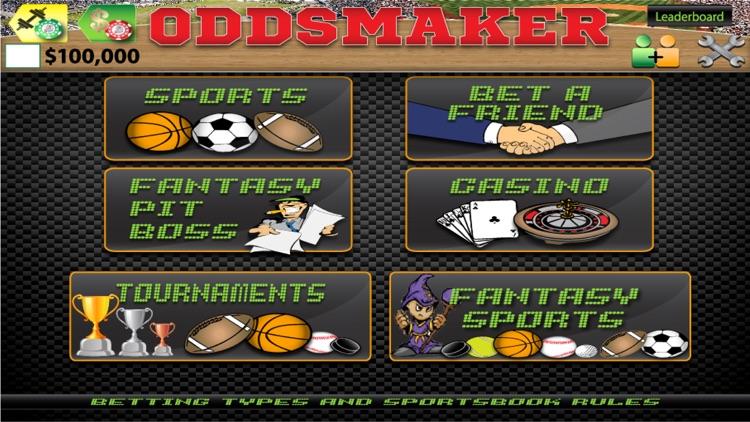 Oddsmaker: SportsCasino