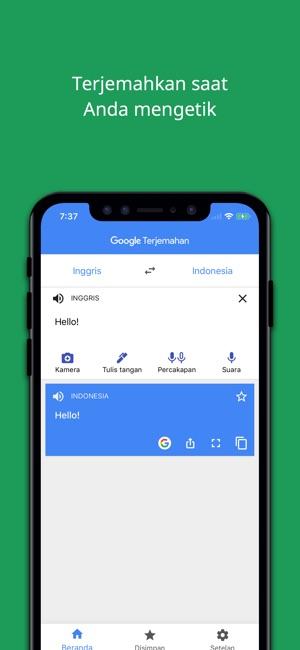 Google terjemahan di app store jepretan layar stopboris Images