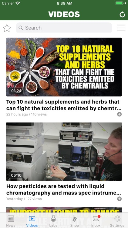 NaturalNews APP screenshot-2