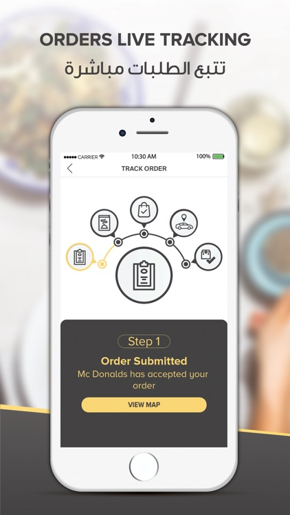 Zitaat: Food Delivery screenshot-3