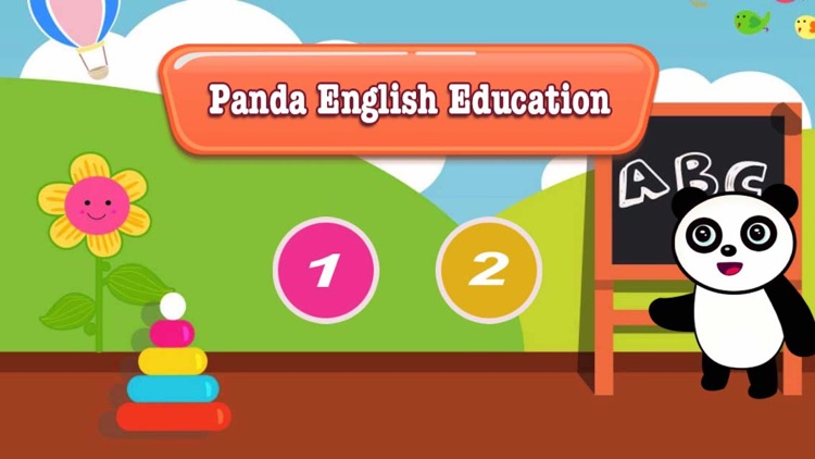 Panda English-熊猫宝宝学习英语单词2合1
