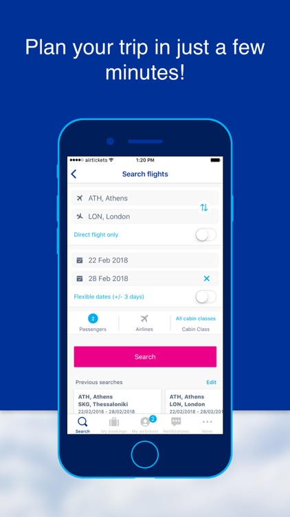 airtickets - A world to share