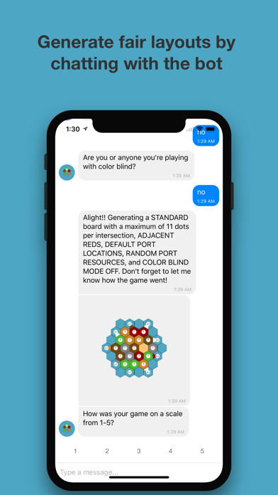 Catan Map Generator Chat Bot by Elevated Pixels Software
