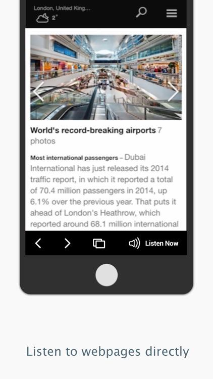 NaturalReader Text to Speech screenshot-4