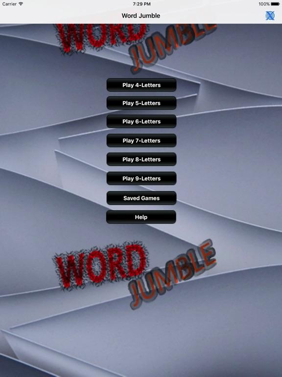 Word Jumble Advanced App Price Drops