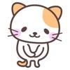 にゃんこステッカー【基本】アイコン