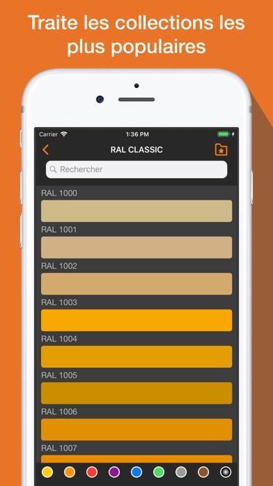 Screenshot #1 pour RAL + Ncs. Couleurs, nuancier