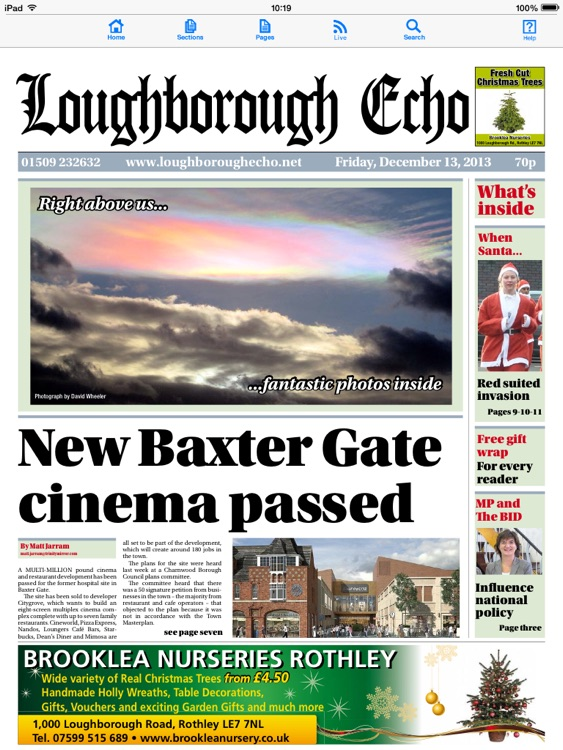 Loughborough Echo newspaper