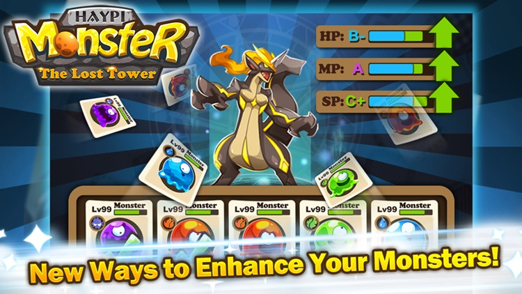 Haypi Monster:The Lost Tower screenshot-4