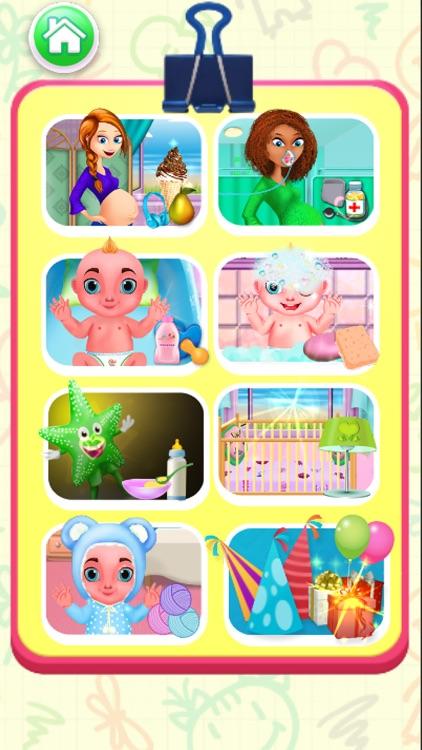 Mommy Newborns Baby Care Games screenshot-3