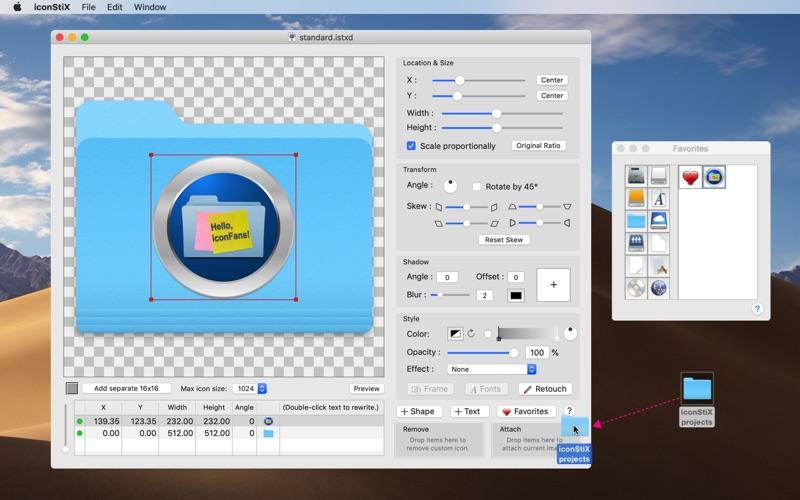 制作个性文件夹 iconStiX