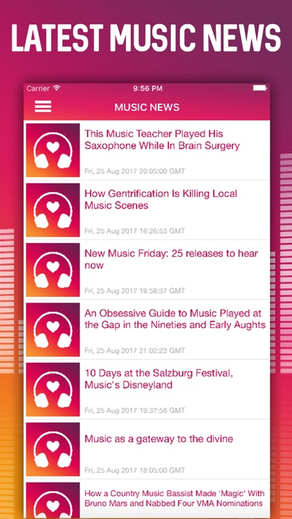 MUZZIQ - Video Music, News & Sticker App