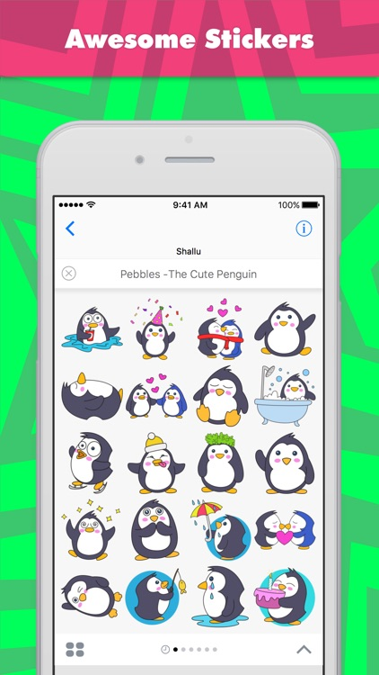 Pebbles -The  Cute Penguin