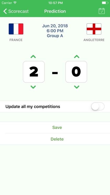 Scorecast - Social Bet Pool screenshot-3