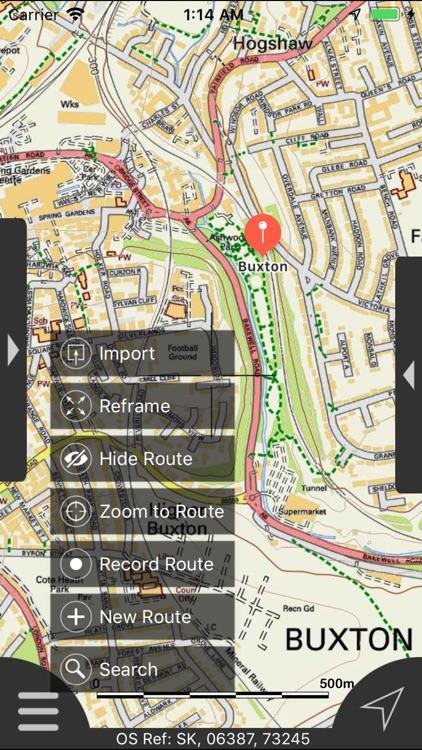 Peak District Maps Offline screenshot-8