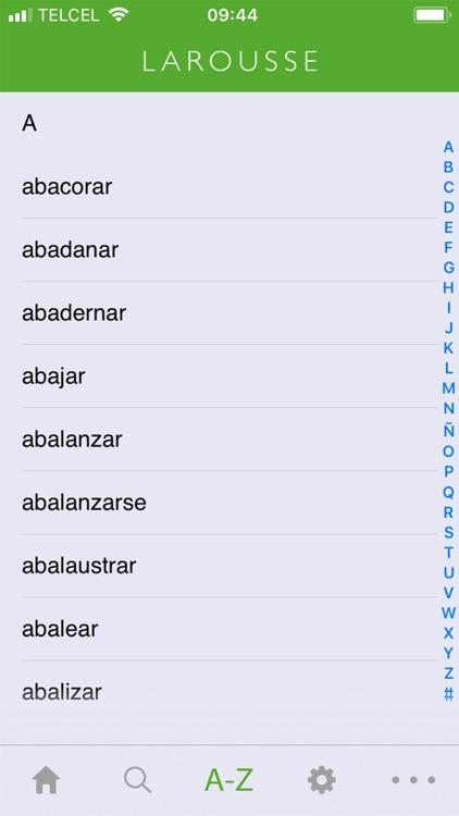 Larousse Verb Conjugation screenshot-3