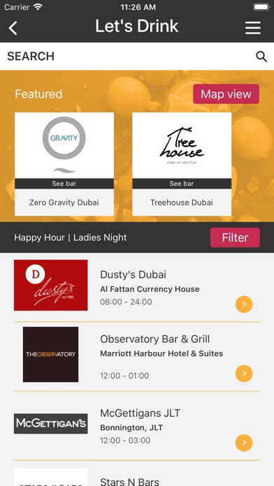 Screenshot for Let's DXB in United Arab Emirates App Store