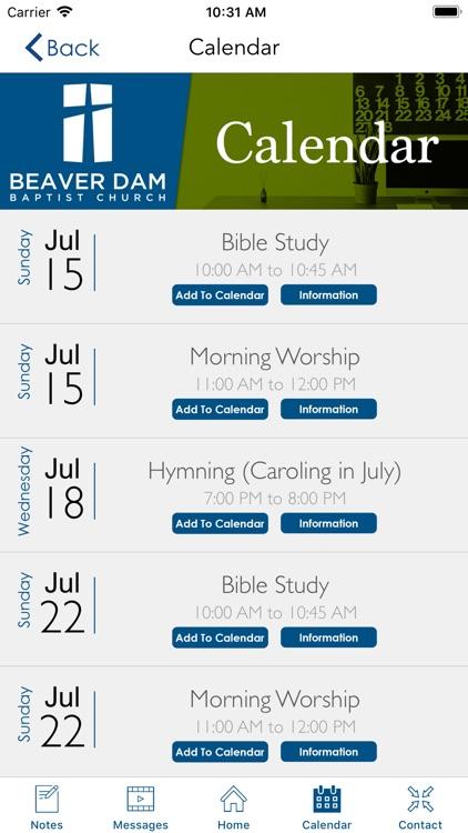 Beaver Dam Baptist Church | KY screenshot-7