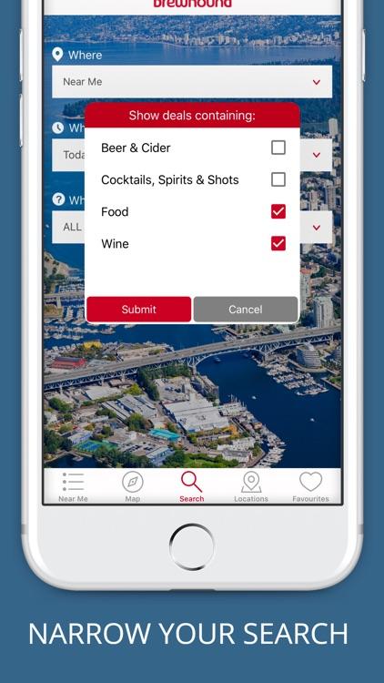 brewhound - The Happy Hour App screenshot-4