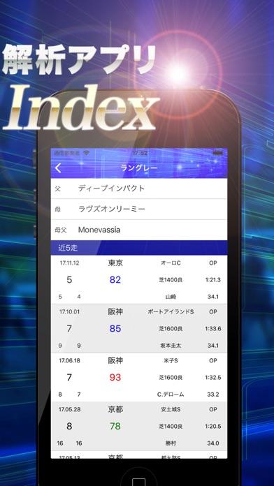 Horse Index ~競走馬走力解析アプリ~スクリーンショット2