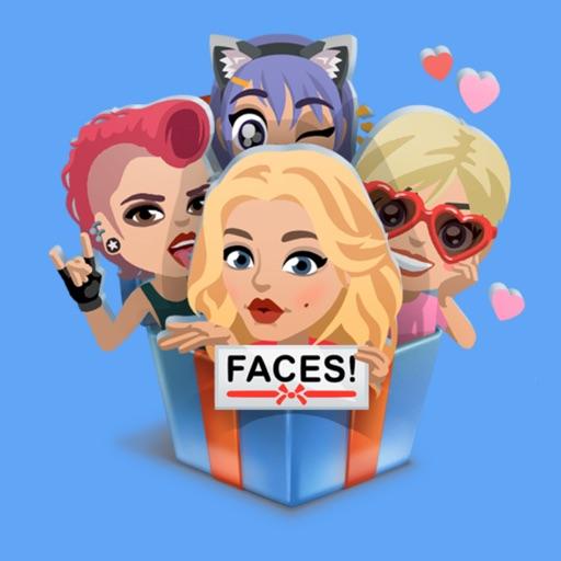 faceSTiK Стикеры iMessage