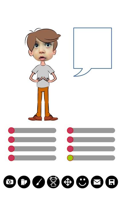 Comic Puppet Gif Maker screenshot-4