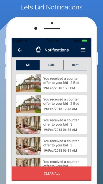Lets Bid Property-Customer App screenshot-3