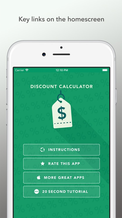 Discount Calculator 2019