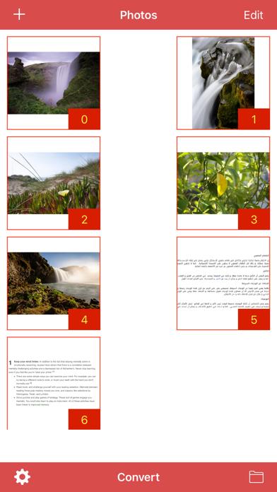 Convert Photo to PDF