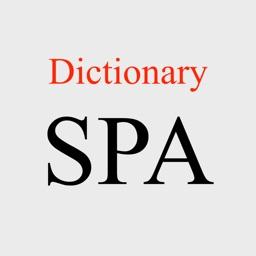 Multi Spanish Dictionary