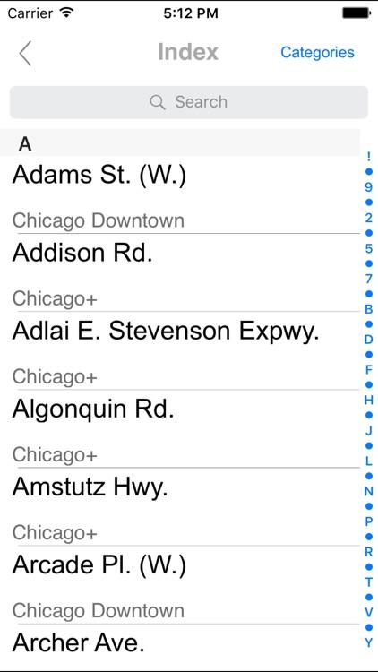 Chicago. City map screenshot-3