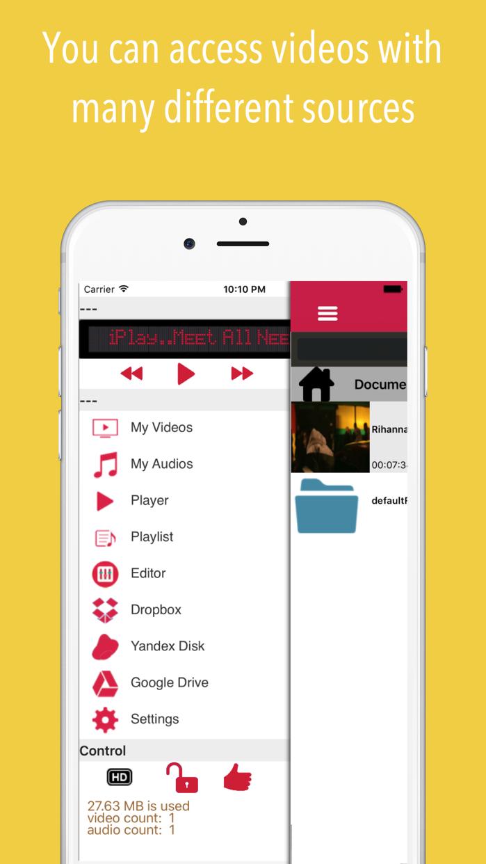iPlay : Music Video Cloud Screenshot